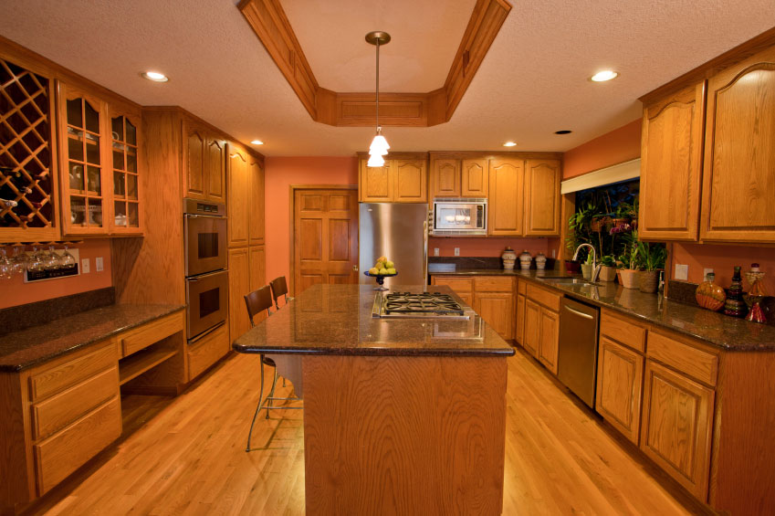 Dimensional wood furniture cabinet manufacturing machines for Flooring or cabinets first